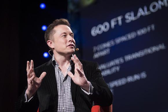 Elon Musk's Hyperloop plans coast far above valuable farmland.  TED/James Duncan Davidson