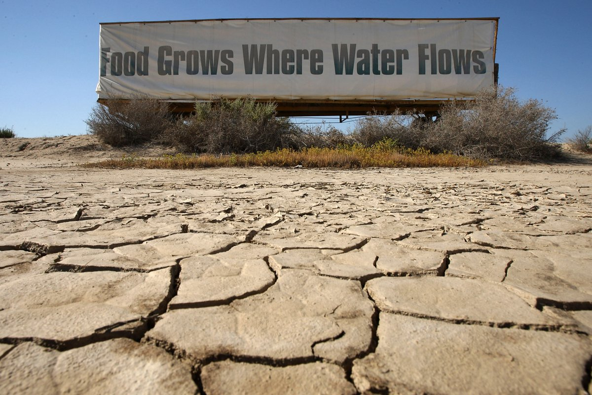 Management of drought disaster